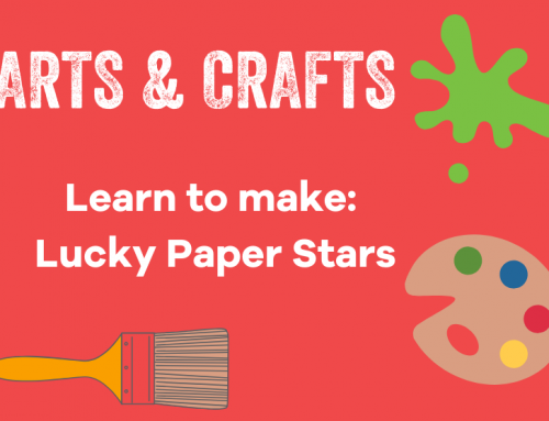 Craft: Lucky Paper Stars