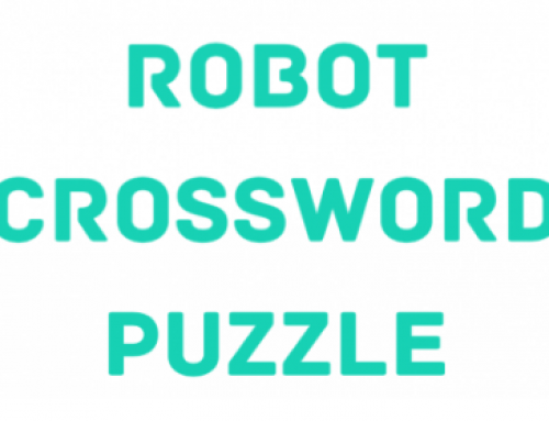 Robot Crossword Puzzle