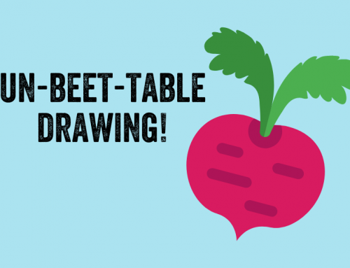 Un-BEET-able drawing!